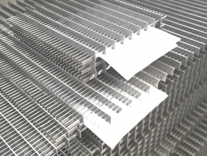 Pannelli grigliati in alluminio pannelli decorativi for Grigliati in alluminio per terrazzi prezzi